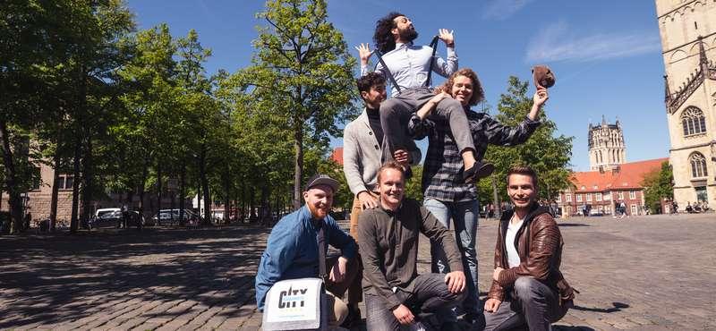 CityGames Frankfurt: JGA Männer auf Tour