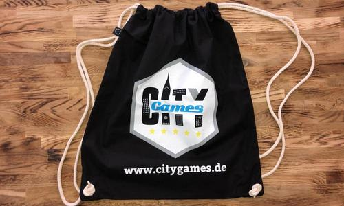 CityGames Frankfurt: Unser fairtrade Backpack unterstützt euch in fast jeder Lebenslage
