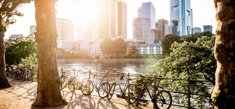 CityGames Frankfurt: Mit dem Rad am Main entlang