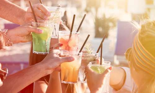 CityGames Frankfurt: Cocktails zum Start der Party